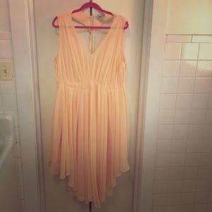 ASOS Blush Pink Cocktail Dress